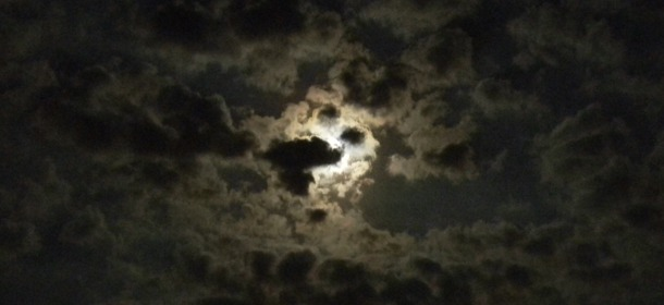 moon&clouds